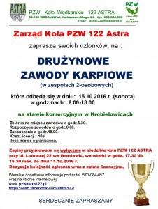 Krobielowice Zawody 15.10.2016